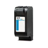 Qualy-Print Tintenpatrone 17 XL C6625A black 45ml