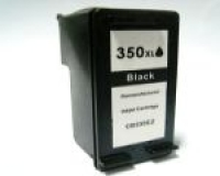 Qualy-Print Tintenpatrone 350 XL  CB336EE schwarz