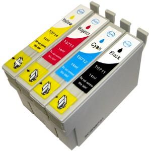 Qualy-Print Sparset T0715XL je 1x T0711-T0714 14ml