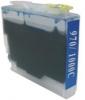 Qualy-Print Tintenpatrone LC-970XL LC-1000XL  cyan 22 ml.
