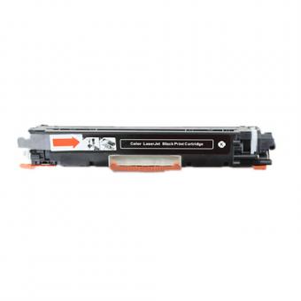 Qualy-Print Toner CE310A / 126A Bk schwarz 1'200 Seiten
