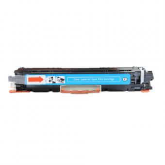 Qualy-Print Toner CE311A / 126A C Cyan 1'000 Seiten