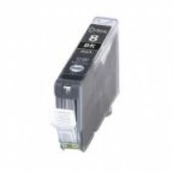 Qualy-Print Tintenpatrone CLI-8 Bk Schwarz mit Chip 13 ml