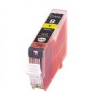 Qualy-Print Tintenpatrone CLI-8 Y Yellow mit Chip 13 ml