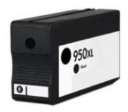 Qualy-Print Tintenpatrone HP 950 Bk XL CN045AE CN049AE schwarz 2'300 Seiten