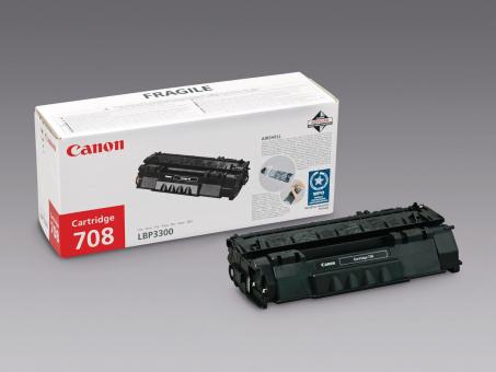 Original Canon Toner Cartridge 708 schwarz 2'500 Seiten