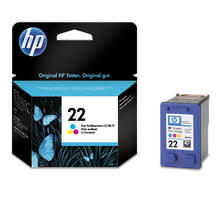 Original HP Tintenpatrone 22 XL  C9352A color