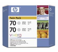 HP Tintenpatrone C9451A 70 light grey