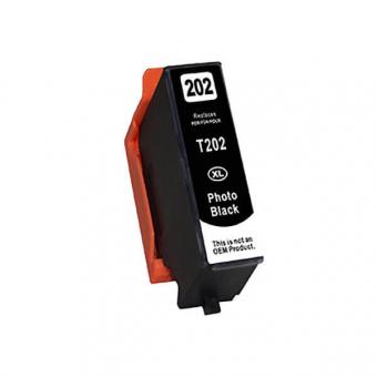 Qualy-Print Tintenpatrone wie Epson 202XL, photo black 9.5ml