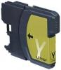 Qualy-Print Tintenpatrone LC-980 LC-1100 HY yellow 19 ml.