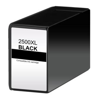 Qualy-Print Tintenpatrone PGI-2500XL black mit Chip 70 ml