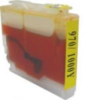 Qualy-Print Tintenpatrone LC-970XL LC-1000XL Yellow 22 ml.